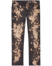Gucci - Bleached Denim Tapered Pant - Men - Cotton - 34 afbeelding