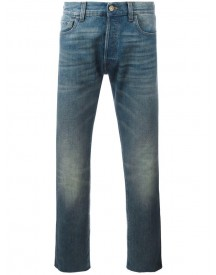 Gucci - Cropped Jeans With Tiger Patch - Men - Cotton - 32 afbeelding