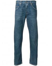 Gucci - Embroidered Tapered Jeans - Men - Cotton - 34 afbeelding