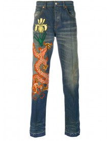 Gucci - Stonewashed Denim Jeans - Men - Cotton/polyamide/polyester/metallic Fibre - 36 afbeelding