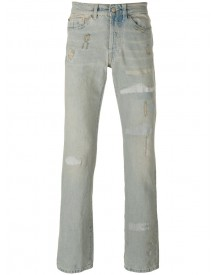 Htc Hollywood Trading Company - Distressed Straight Cut Jeans - Men - Cotton - 29 afbeelding