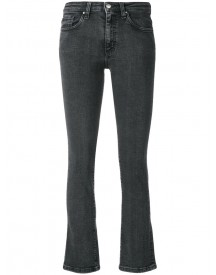 Iro - Cropped Flared Jeans - Women - Cotton/polyester/spandex/elastane - 27 afbeelding