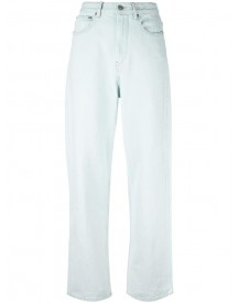 Isabel Marant Étoile - 'corby' Slouchy Jeans - Women - Cotton - 38 afbeelding