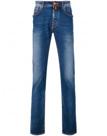 Jacob Cohen - Straight Leg Comfort Jeans - Men - Cotton/spandex/elastane - 36 afbeelding