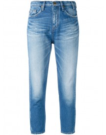 Jil Sander - Faded Cropped Skinny Jeans - Women - Cotton - S afbeelding