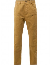 Lanvin - Panelled Denim Trousers - Men - Cotton/calf Leather/polyester - 34 afbeelding