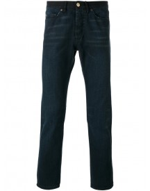 Lanvin - Straight-leg Jeans - Men - Cotton/calf Leather/polyester - 31 afbeelding