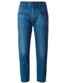 Levi's Vintage Clothing - 1967 Customized 505 Cropped Jeans - Women - Cotton - 28 afbeelding