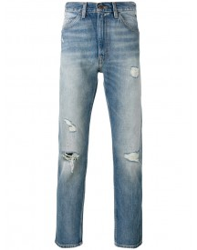 Levi's Vintage Clothing - Distressed Cropped Jeans - Men - Cotton - 30 afbeelding