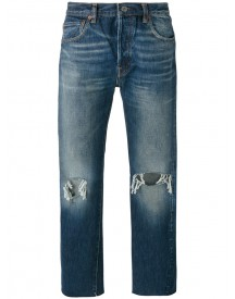 Levi's Vintage Clothing - Ripped Knee Jeans - Men - Cotton - 34 afbeelding