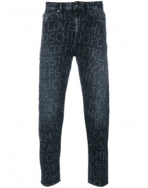Love Moschino - Slim-fit Jeans - Men - Cotton/spandex/elastane - 31 afbeelding