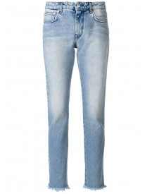 Msgm - Slim-fit Jeans - Women - Cotton - 44 afbeelding