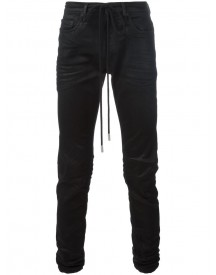 Off-white - Coated Denim Jeans - Men - Cotton/polyester/spandex/elastane - 33 afbeelding