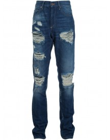 Off-white - Distressed Jeans - Men - Cotton - 32 afbeelding