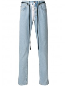Off-white - Straight-leg Jeans - Men - Cotton - 30 afbeelding