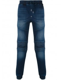 Philipp Plein - Biker Sweatpants - Men - Cotton/spandex/elastane - 30 afbeelding