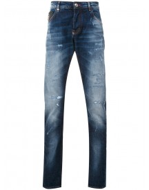 Philipp Plein - Slim-fit Jeans - Men - Cotton/polyester/spandex/elastane - 32 afbeelding