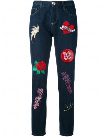 Philipp Plein - Teddy Boss Jeans - Women - Cotton/polyester - 28 afbeelding