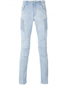 Pierre Balmain - Destroyed Skinny Jeans - Men - Cotton/spandex/elastane - 33 afbeelding
