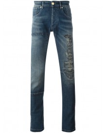 Pierre Balmain - Distressed Finish Jeans - Men - Cotton/spandex/elastane - 31 afbeelding