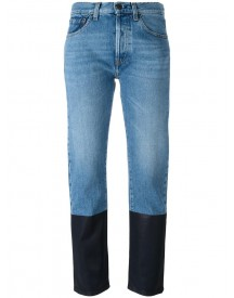 Ports 1961 - Dyed Hem Jeans - Women - Cotton - 27 afbeelding