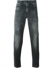 R13 - Distressed Jeans - Men - Cotton/polyester/spandex/elastane - 33 afbeelding