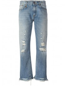 R13 - Ripped Jeans - Women - Cotton - 25 afbeelding