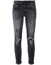 R13 - Ripped Jeans - Women - Cotton/spandex/elastane - 29 afbeelding