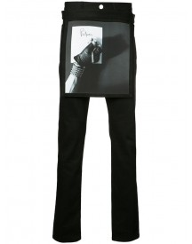 Raf Simons Robert Mapplethorpe Printed Apron Slim-fit Jeans - Men - Cotton/polyurethane - 32 afbeelding