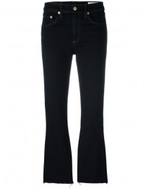 Rag & Bone - Cropped Flared Jeans - Women - Cotton/polyester/spandex/elastane - 29 afbeelding