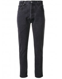 Re/done - Classic Fitted Jeans - Women - Cotton - 30 afbeelding