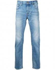 Red Card - Stonewashed Cropped Jeans - Men - Cotton - 33 afbeelding