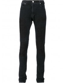Rta - Embroidered Skinny Jeans - Men - Cotton/polyurethane - 33 afbeelding