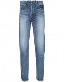 Saint Laurent - Tapered Slim Fit Jeans - Women - Cotton - 28 afbeelding
