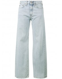Simon Miller - W006 Wide-leg Jeans - Women - Cotton - 24 afbeelding