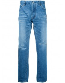 Taakk - Tapered Cropped Jeans - Men - Cotton/polyester/rayon - 2 afbeelding