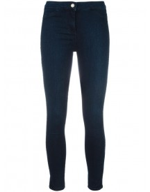 Twin-set - Cropped Super Skinny Jeans - Women - Cotton/polyamide/spandex/elastane - 27 afbeelding