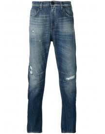 Versace Jeans - Distressed-effect Jeans - Men - Cotton/polyester - 29 afbeelding