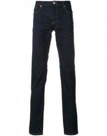 Versace Jeans - Logo Embroidered Jeans - Men - Cotton/spandex/elastane - L afbeelding