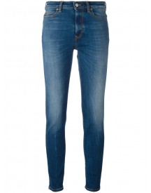 Vivienne Westwood Anglomania - Skinny Cropped Jeans - Women - Cotton/polyamide/spandex/elastane - 26 afbeelding