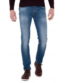 Nudie Jeans Co Jeans Blauw afbeelding