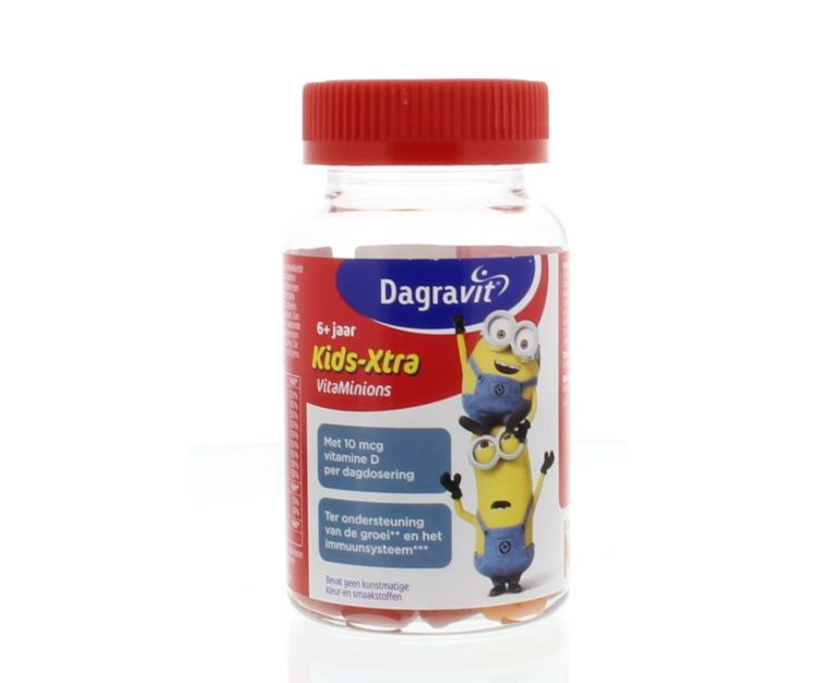 Image Kids-xtra Vitaminions Gums 6+