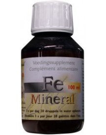 Fe Ijzer Mineral Ion afbeelding