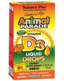 Animal Parade Vitamine D-3 Druppels afbeelding