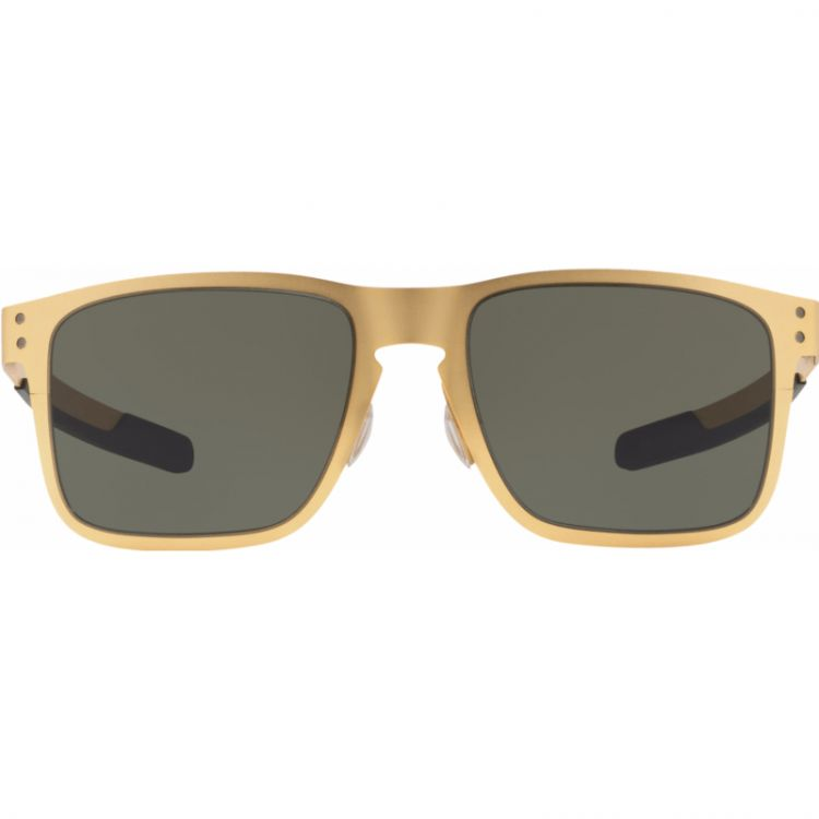 Image Oakley Holbrook Metal Satin Gold/ Dark Grey Lens