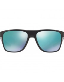 Oakley Crossrange Xl Polished Black/ Jade Iridium Lens afbeelding