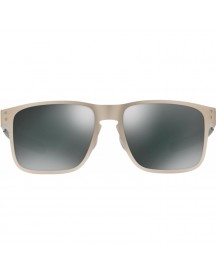 Oakley Holbrook Metal Satin Chrome/ Black Iridium Lens afbeelding