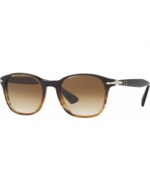Persol Po3150s Brown Striped / Gradient Brown Lens afbeelding