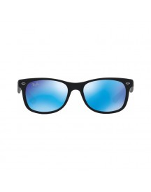 Ray-ban Junior Rj9052s Matte Black / Blue Mirror afbeelding