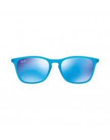 Ray-ban Junior Rj9061s Azure Rubber / Green Mirror Blue afbeelding